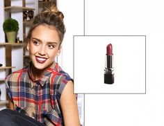 10 Celebrity-Approved Lip Colors to Try Now via @byrdiebeauty #jessicaalba in #avon Ultra color lipstick in perfect red Shop this at www.youravon.com/coloradoriver