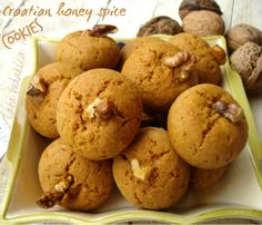 These are Traditional #Croatian #Christmas #cookies full of divine spice flavors and #honey goodness. They are not too sweet, easy to make and easy to store for a week or two.