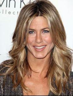 Beige blonde. Sandy blonde. Hair color. Jennifer Aniston