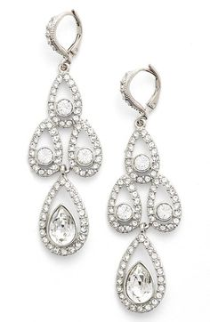 Givenchy Crystal Chandelier Drop Earrings available at #Nordstrom