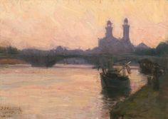 The Seine - c.1902 -  Henry Ossawa Tanner - National Gallery of Art