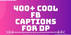 400+ Cool FB Captions for DP 400+ Cool FB Captions for DP: We have Collected 400 Captions for Facebook #caption #captionforfacebook #captionforfacebookprofilepicture #creativecaptionsforfacebookprofilepictures #captionforpicturesofme #attitudecaptionforthepic #Bengalicaptionforfacebook #shortcaptionforaprofilepicture #cutecaptionsforpicturesofyourself Facebook Captions, Facebook Dp, Caption For Girls, Caption For Friends, Captions On Attitude, Best Friend Captions, Best Selfies, Soft Heart, Keep Smiling