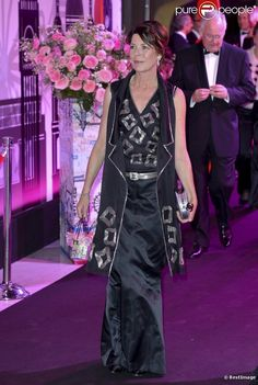 Princess Caroline at Monaco Rose Ball 2012