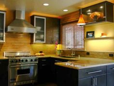 How to Design an Eco-Friendly Kitchen    Go green and follow these easy design tips to create an affordable, stylish and eco-friendly kitchen.
