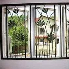 1000 images about window door grill on pinterest grill for Modern zen window grills design