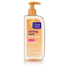 Clean & Clear Morning Burst Facial Cleanser For Skin Care Routines, 8 Fl., M… - Skin Care Skin Care Regimen, Skin Care Tips, Beauty Regimen, Skin Care Routine For 20s, Skincare Routine, Face Routine, Drugstore Skincare, Beauty Routines, Best Moisturizer