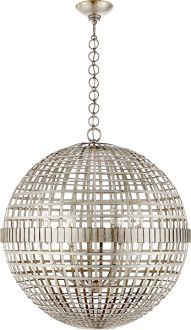 FAMILY ROOM ?  LOVE IT BUT THINK TOO MUCH NICKEL - ALSO VERY $$  MILL CEILING LIGHT
