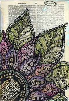 Zen Doodle: Tons of Tangles: Tonia Jenny, Amy Jones: 9781440332104 ...
