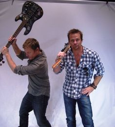 Sean Patrick Flanery and Norman Reedus - Google Search