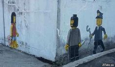 Cop 'joins' Zachas' JB mural to 'pounce' on robber - Malaysiakini