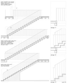 #Architecture in #Italy - #DetailsStairs by Furlan&Pierini Architetti