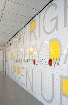 PAVE: Environmental Graphics by Paula Scher | Inspiration Grid | Design Inspiration