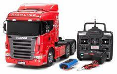 Tamiya RC Scania R620 6X4 Highline 1/14 scale tractor rig...