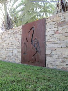 Things That You Need To Know When It Comes To Industrial Decorating You can use home interior design in your home. Interiores Art Deco, Corte Plasma, Privacy Screen Outdoor, Bright Paintings, Decorative Screens, Steel Art, Steel Sculpture, Corten Steel, Metal Panels
