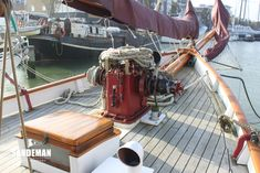 Fred Shepherd 54 ft Staysail Schooner 1929 - Sandeman Yacht Company Anchor Systems, Cruise Boat, Classic Yachts, House Deck, Charter Boat, Boats For Sale, Dog Houses, Diesel Engine, Fresh Water