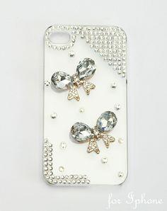 GUESS - Cover Iphone X / Xs Cover Rigida Farfalle E Perle