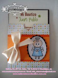 Divina invitacion para niño con sellito de color paws y papel de Stamping Paper.