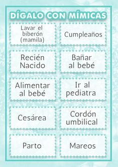 5 Juegos Para Baby Shower Baby Shower Ideas Baby Shower Games
