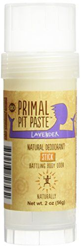 Primal Pit Paste All Natural Deodorant Stick, Aluminum Free, Paraben Free, No Added Fragrances, Lavender Primal Pit Paste http://www.amazon.com/gp/product/B00QJLA8BK/ref=as_li_qf_sp_asin_il_tl?ie=UTF8&camp=1789&creative=9325&creativeASIN=B00QJLA8BK&linkCode=as2&tag=divinetreas03-20&linkId=6KLRNPDXGPSXWXW2