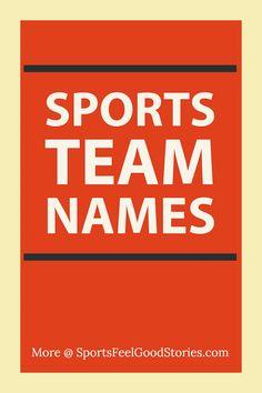 37 Best Sports Team Names - Basketball, Baseball, Softball, Football
