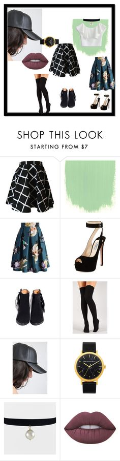 """""""Sweet and cool"""" by jennaylime on Polyvore featuring Chicwish, Prada and Lime Crime"""