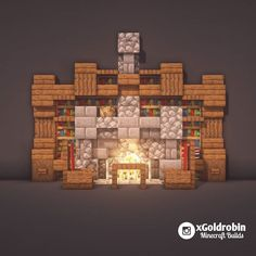 2624 likes, 20 comments Gold Robin Minecraft Builder (