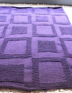 patron tricot couverture                                                                                                                                                                                 Plus