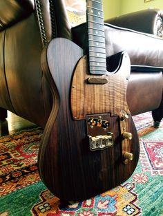 'The La Rose #1' All Rosewood telecaster Custom Built by Guitars_Addiction USA.