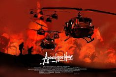 'Apocalypse Now' Francis Ford Coppola - Art by Jock. Robert Duvall, Los Doors, Apocalypse Now Movie, Rising Storm, Movie Synopsis, Martin Sheen, Francis Ford Coppola, Frederic, War Film