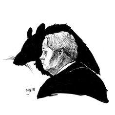 Rat with Petter Pettigrew. Peter Pettigrew, The Marauders, Rat, Hogwarts, Harry Potter, Batman, Journal, Superhero, Books