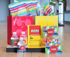 Lego Printable Party Kit |