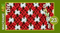 macrame abc - PATTER SAMPLE - YouTube