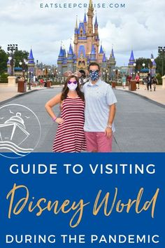 Guide to Visiting Walt Disney World During the Pandemic | We have just returned from a trip to the happiest place on earth and have our 12 tips for visiting Walt Disney World during the pandemic. #Disney #DisneyVacation #travel2020 #magicalday #bestdayever #WDW Disney World Tips And Tricks, Disney Tips, Disney Parks, Walt Disney World, Cruise Excursions, Cruise Destinations, Disney World Vacation Planning, Disney Vacations, Cruise Ship Reviews
