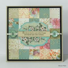 Beccy's Place: Scrap Card #33