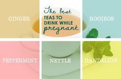 best-teas-drink-while-pregnant