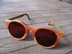 Marcos de madera y latón Vinhatico Rx/gafas de por WOLFEANDRABBIT