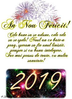 Felicitari de anul nou 2019 - An Nou Fericit! An Nou Fericit, Fabre, New Year Wishes, Christmas Wallpaper, Motto, Happy New Year, Diy And Crafts, Samba, Google
