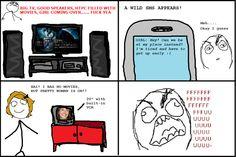 TV - troll face comics