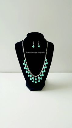 Hey, I found this really awesome Etsy listing at https://www.etsy.com/listing/465273711/mint-necklacepastel-statement