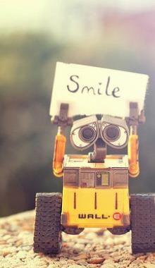 wall-e SMILE