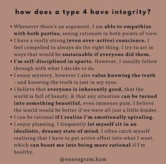 Type 4 Enneagram, Enneagram Test, Personality Profile, Infj Personality, The More You Know, How To Find Out, Aquarius And Cancer, Infj Type, Isfp