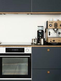 Reform Basis 01 Linoleum Kitchen Design On IKEA Elements. Linoleum Fronts  In Colour U0027Pewter
