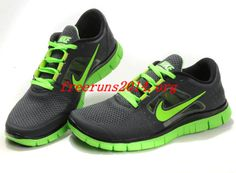online retailer c6a1b 4e77d Nike Free Run 3 Mens Black Fluorescence Green 2013 Running Shoes    Authentic Nike Shoes For Sale, Buy Womens Nike Running Shoes 2014 Big  Discount Off