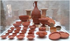 Ceramic materials are obtained by molding and then baking the clay at high temperatures. A brick, a tile, a jug, basin, china, porcelain, stoneware ... are products made from ceramic materials