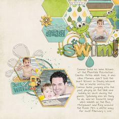 digital scrapbook layout by jaime