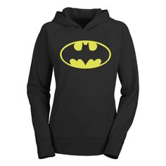 The DC Batman Vintage Logo Hoodie comes in a great heather pullover fleece made from a 50/50 Cotton / Polyester blend.