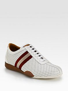 Bally Perforated Leather Sneakers