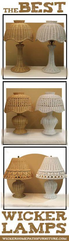The Best Wicker Lamps
