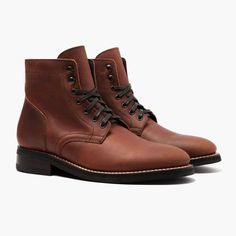 Thursday Boots President in Grizzly Wheat Mens Fall Boots, Best Boots For Men, Ugg Boots, Combat Boots, Gents Fashion, Queer Fashion, Brown Knee High Boots, Goodyear Welt, Boot Brands