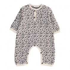 ae3e186a5695 Geometric Pattern Jumpsuit Grey Pequeno Tocon Jumpsuits For Girls